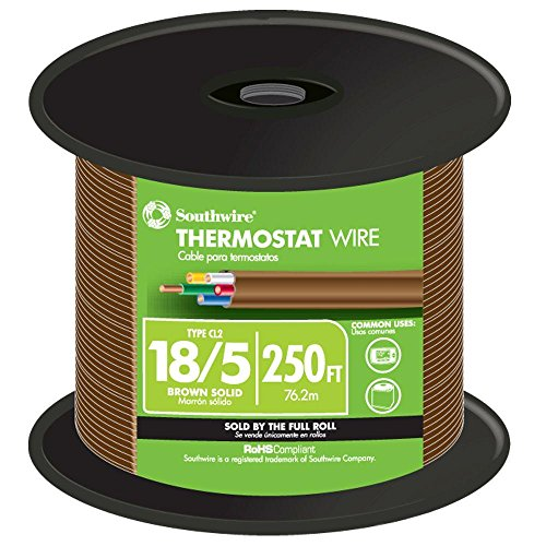 Southwire 64169644 Thermostat Wire, Brown