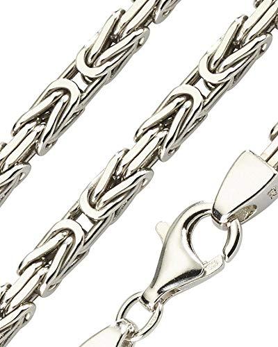 Königskette 925 Sterling Silber rhodiniert 65 cm 11,0 mm