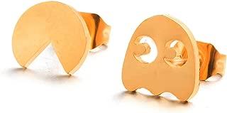 Multiple Golden Stud for Women Minimalist Earrings