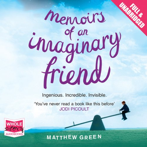 Memoirs of an Imaginary Friend                   By:                                                                                                                                 Matthew Green                               Narrated by:                                                                                                                                 Matthew Brown                      Length: 10 hrs and 45 mins     7 ratings     Overall 3.0