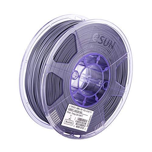 ABS plus Filament 1,75mm, 3D-Druckerfilament 1 kg (2,2 lbs), ABS-Upgrade-Version-Grau