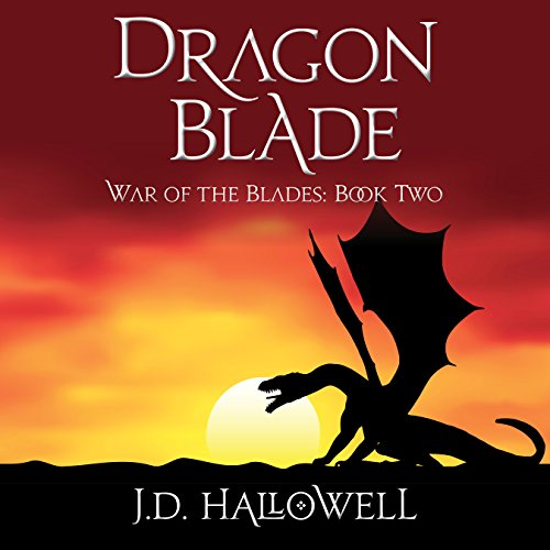Dragon Blade audiobook cover art