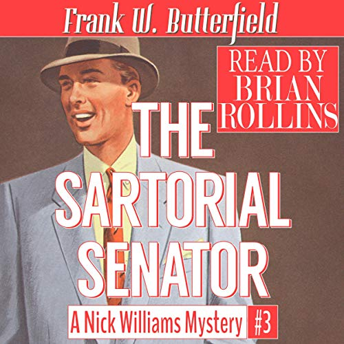 The Sartorial Senator audiobook cover art