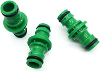 anruo 10pcs sealed hose connection garden irrigation system components water hose connector drip irrigation system connector