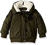 Steve Madden Baby Girls' Fashion Outerwear Jacket (More Styles Available), 1033-Military Green, 12M