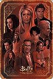 Cimily Buffy The Vampire Slayer Art Poster Zinn Zeichen