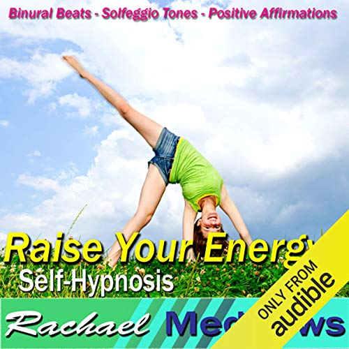 Raise Your Energy Hypnosis audiobook cover art