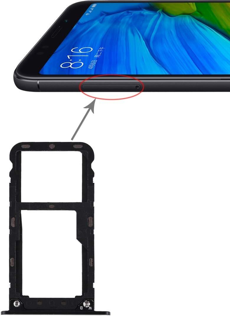 Tangyongjiao Cocket de la Tarjeta del teléfono móvil 2 Bandeja de Tarjeta SIM/Bandeja de Tarjeta Micro SD para Xiaomi Redmi 5 Plus Accesorios telefonicos