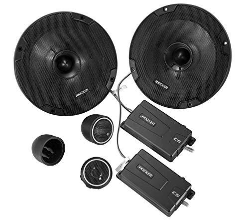 "Kicker 46CSS674 Car Audio 6 3/4"" Component Full Range Stereo Speakers Set CSS67"