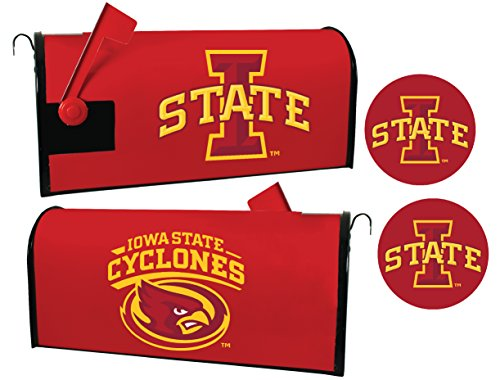 Iowa State Cyclones Magnetic Mailbox Cover & Sticker Set