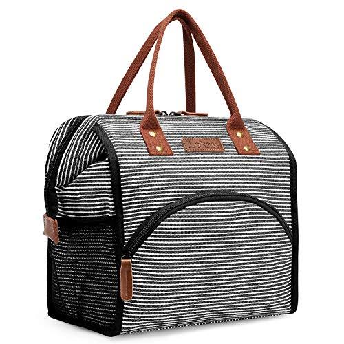 UTOTEBAG Sac Repas Isotherme pour Déjeuner Lunch Bag Portable pour Le École et Le Travail...