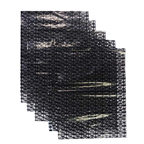 【5 Stück】GLOTRENDS Antistatische Beutel ESD-Abschirmbeutel, 30 x 40 cm (11,8 x 15,7 Zoll), für die meisten Computerzubehörteile, offenes Design, ungiftige PET-Materialien