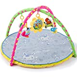 HEXbaby Large Baby Play Gym, Kick and Play Piano Infant Activity Mat for Babies, 5 Baby Activity Gym...