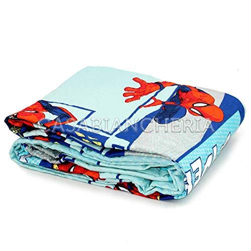GC Enterprise S.P.A Colcha Bouti Marvel Spiderman Azul 170 x 250 cm