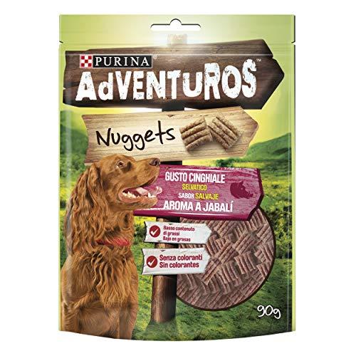 Purina Adventuros Nuggets golosinas y chuches para perros 6 x 90 g