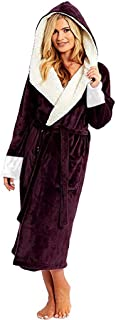 Nightgown Bathrobe Solid Color Towel Dressing Gown Hooded Pajamast