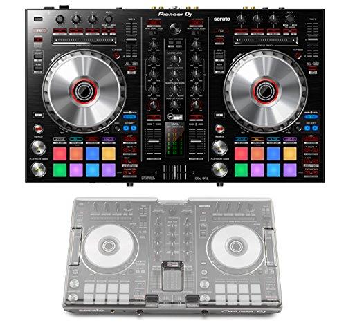 Read About Pioneer DJ DDJ-SR2 + Decksaver DS-PC-DDJSR2DDJRR Cover Bundle