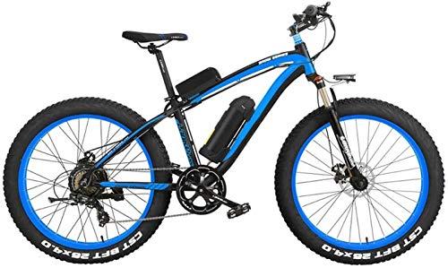 Alta velocidad Bicicleta eléctrica de gran alcance 1000W aleación de aluminio de los hombres con la batería de litio 16A y pantalla LCD de 7 velocidades eléctrico de bicicletas de montaña profesionale