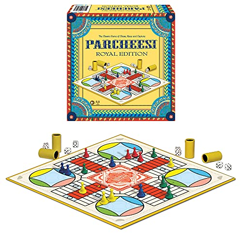 Winning Moves Games Parcheesi Royal Edition, Multicolor (6106)