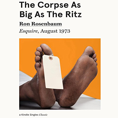The Corpse as Big as the Ritz cover art
