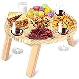 NUZEKY Mesa de picnic plegable portátil de jardín – Mesa de...