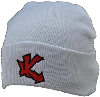 Underground Kulture UK White Beanie Winter Ski Woolly hat