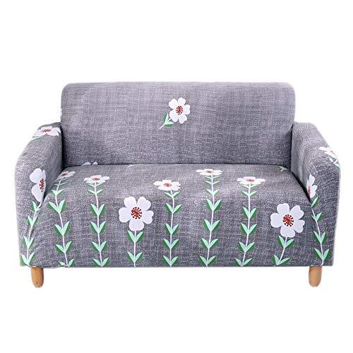 ASCV Funda de sofá elástica Fundas de sofá para Sala de Estar Funda de sofá Funda de sofá Proteger Muebles A8 3 plazas
