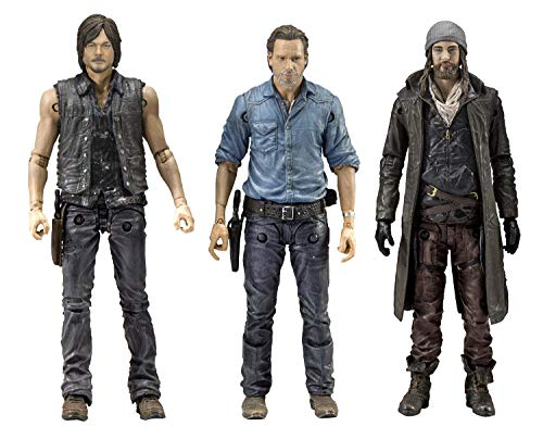 McFarlane Toys - The Walking Dead Actionfiguren Allies Rick, Daryl & Jesus