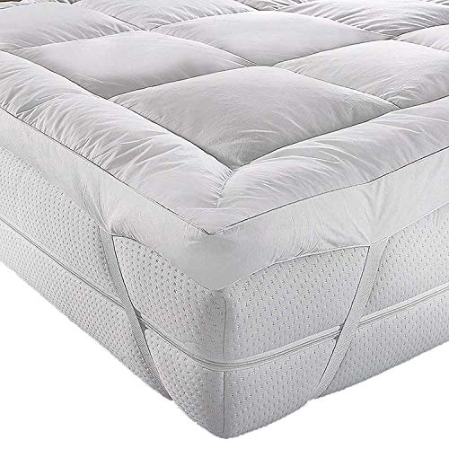 BeddingHome Super Soft 2 Inch 5CM Thick Micro Fiber Mattress Topper/Enhancer Non-Allergic (Small Double)