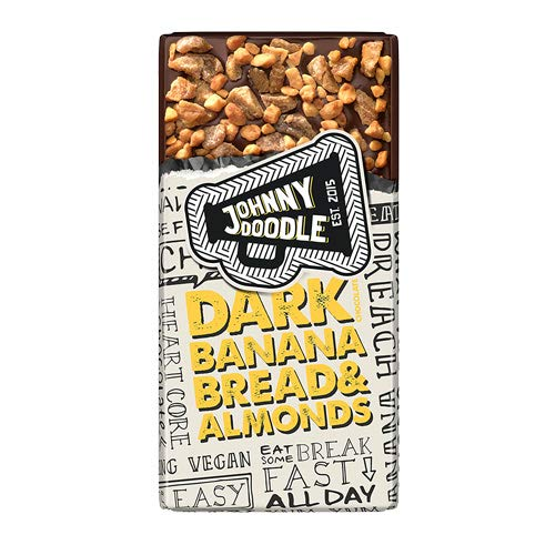 Johnny Doodle - Dark Banana bread & Almond - 150g