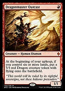 Magic: the Gathering - Dragonmaster Outcast (144/274) - Battle for Zendikar