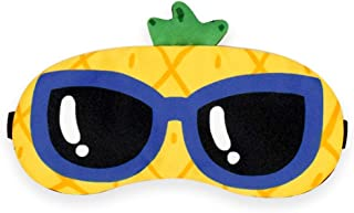 Asdfnfa Two Pairs Creative Eye Mask Sleep Ice Bag Shading Cold Compress Breathable Female Male Cartoon Cute Personality Cold Summer Student asdfnfa (Color : Yellow)