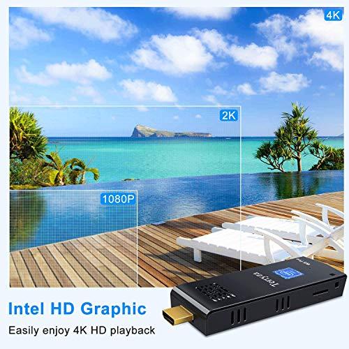 PC Stick Intel Atom Z8350 Windows 10 Pro Mini Computer 4GB DDR3 64GB eMMC Support 4K HD,2.4G/5G Dual Band WiFi AC,BT 4.2 Nevada
