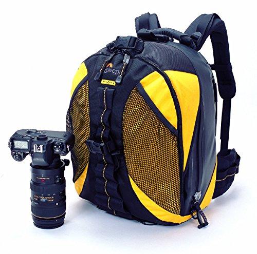 Lowepro DryZone 200 Fototrekker Kamerarucksack gelb/schwarz