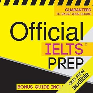 Official IELTS Prep audiobook cover art
