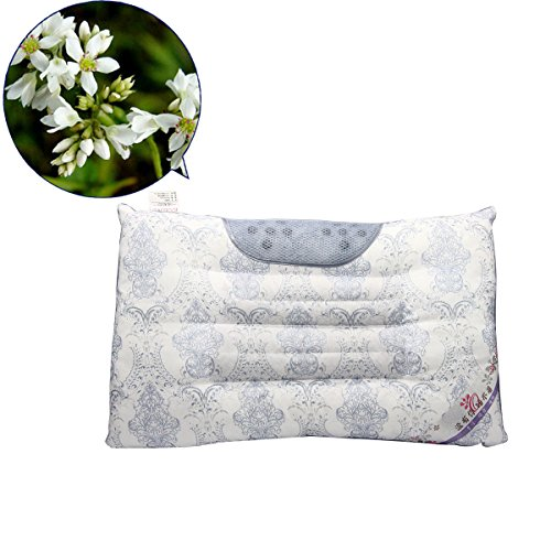 Mochiglory Magnetic Pearl Cotton Cassia Buckwheat Lavender Health Care Cervical Neck Pillow Sleep Quality