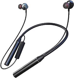 $43 » Sponsored Ad - Bluetooth Neckband Headphones,in-Ear Earphone,CVC Noise-canceling Headset,with Mic Stereo 9D HiFi Wireless ...