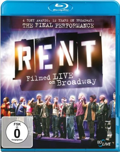 Rent - Filmed Live on Broadway  (OmU) [Blu-ray]