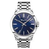 Thomas Sabo Reloj para señor Rebel at Heart Azul WA0310-201-209-46 mm