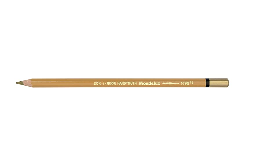 Chartpak 3720074007KS 3720 Brown Ochre Mondeluz Pencil