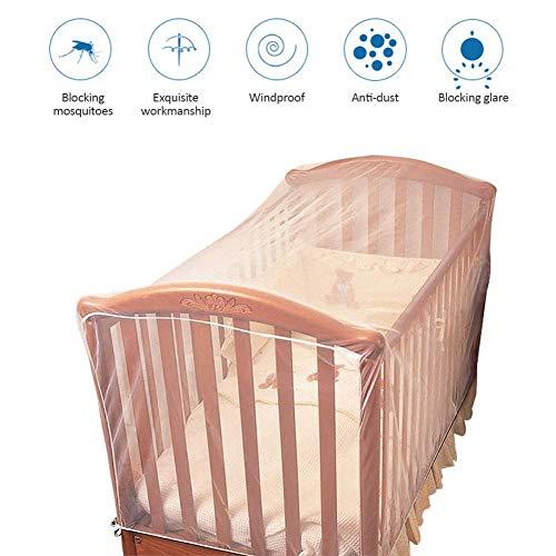 Per berceau moustiquaire respirant bébé petit lit moustiquaire nouveau-né crèche moustiquaire enfants chambre auvent pour enfant en bas âge garçons et filles