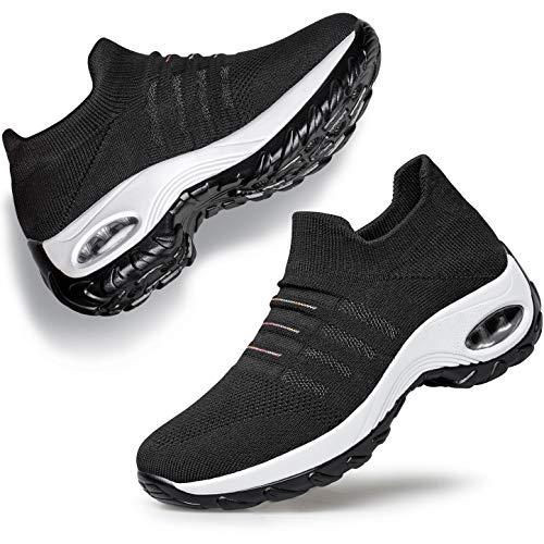 YHOON Women's Walking Shoes -...