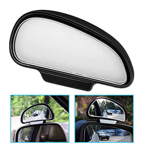 P62D TOP KFZ Auto Toter Winkel Spiegel Außenspiegel Blindspiegel Fahrschulspiegel zusatzspiegel Auto Schwarz Rechtseite