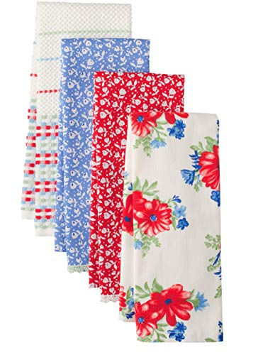 The Pioneer Woman Classic Charm Kitchen Towel Set