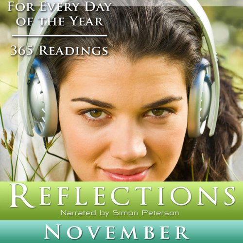 Reflections: November audiobook cover art