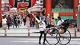 Virtual rickshaw ride and shopping experience in Asakusa, Tokyo