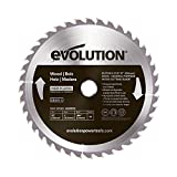 <span class='highlight'>Evolution</span> <span class='highlight'>Power</span> <span class='highlight'>Tools</span> Wood Carbide-Tipped Blade, 255 mm