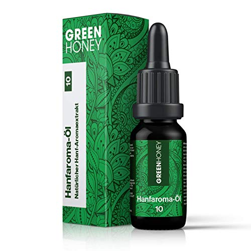 GREENHONEY ® HANFAROMA Öl 10% - MADE...