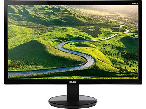 "Acer 23.6"" Monitor Full HD 1920x1080 5ms 250 Nit Vertical Alignment (Renewed)"