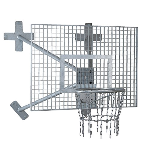 Sport-Thieme Fair Play Basketball-Wandanlage Outdoor, Korb Outdoor abklappbar, Zielbrett: Aluminium